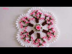 Crochet Stitches, Knit Crochet, Crochet Crafts, Diy Crafts, Laddu Gopal Dresses, Spring Tree, Embroidery Motifs, Baby Knitting Patterns, Mehndi Designs