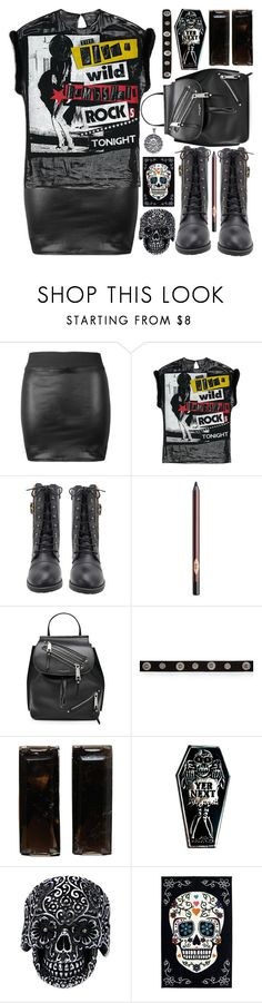 """City Slickers: Patent Leather"" by shoaleh-nia ❤ liked on Polyvore featuring Charlotte Tilbury, Marc Jacobs, Aéropostale, Goblinko Megamall and Mohawk"