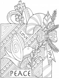 Color Christmas Coloring Pages For Adults And Recapture That Charm Of Those Favorite Holiday Moments Adult Are An Excellent
