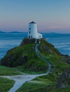 Llanddwyn Island #lighthouse - Anglesey, #Wales by Rhysp1 http://dennisharper.lnf.com/