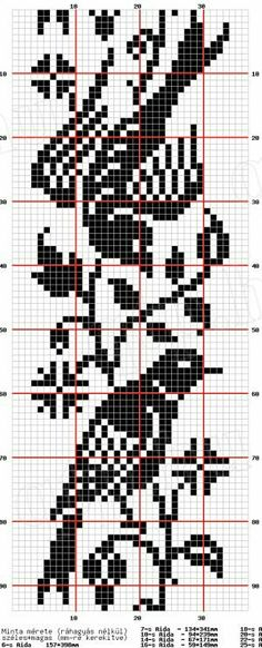 Use These Handy Alphabet Charts for Knitting Words or Monograms - cross stitch graph paper