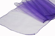 Purple Organza Table Runner Size 13 x 108 by Zemboor on Etsy