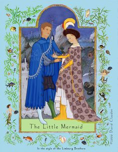The Littlel Mermaid (Historical paper dolls by C. David Claudon)
