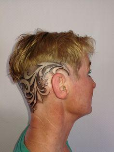 nina hagen rasierten kopf
