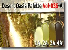 Desert Oasis Color Palette by Polymer Clay Tutor