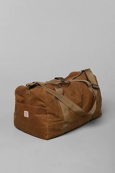 ++ filson tin cloth medium duffle bag