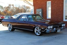 1968 El Camino SS396. First year for Super Sport option on El Camino.