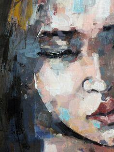 thomas donaldson, 5-25-15 study(detail), oil on canvas, 90x90cm on ArtStack #thomas-donaldson #art