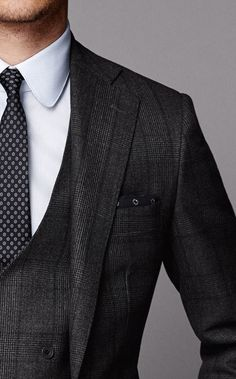 men's fashion & style - would look great for a prom suit too.
