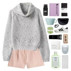 """""""WORDS ARE FILLING UP THE TUB"""" by elainesabine ❤ liked on Polyvore featuring McQ by Alexander McQueen, NARS Cosmetics, adidas Originals, H&M, Givenchy, Arabia, John Allan's, Fresh, Black Scale and Pelle"""