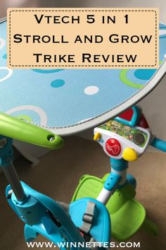The Vtech 5 in 1 stroll and grow trike review. This is the perfect kids toy trike. It is suitable from 9 months to six years and would be the perfect activity toy or interactive toy for Christmas or a kids birthday present. #tourdetrike