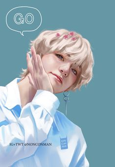 Bts kim taehyung v fanart by: nonconman on we heart it Taehyung Fanart, Bts Taehyung, Kpop Anime, Bts Art, V Bts Wallpaper, Bts Drawings, Bts And Exo, Bts Chibi, Amazing Drawings