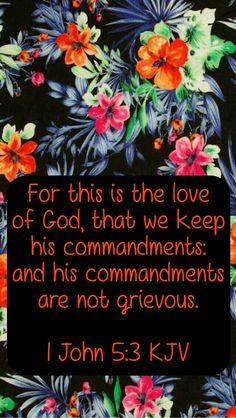 1John 5:3 KJV