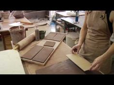 Clay slabs are not only for flat surfaces and small molds. Learn how to make a vase with clay slabs from our expert clay master in this free video clip.  Expert: Emily Owen  Contact: www.littleepottery.com Bio: Emily majored in studio art, earning her a bachelors degree in fine arts and geological sciences. Emily has worked in production potter...