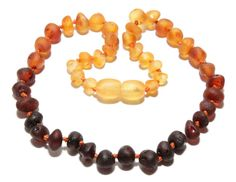 Genuine Raw Baltic Amber Baby Teething Necklace by BLTAmber, $8.49