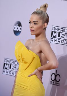 Rita Ora – 2014-11-23 – attends the '2014 American Music Awards' at Nokia Theatre L.A. Live in Los Angeles (no. 6690)