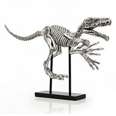 Velociraptor Dinosaur from Z Gallerie - This will happen. Decorative Accessories, Decorative Items, Home Accessories, Decorative Accents, Velociraptor Dinosaur, Dinosaur Halloween, Dinosaur Bedroom, Dinosaur Gifts, Stylish Home Decor