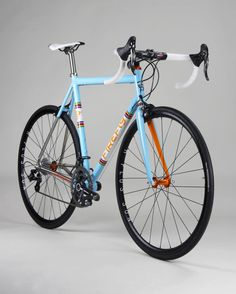 FireFly titanium with Campagnolo Super Record.
