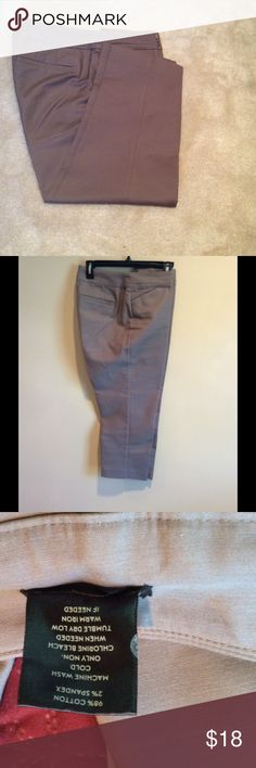 "Loft cropped pants. Worn a handful of times, in Excellent condition. Rise 9.5"" inseam 23"" Ann Taylor Pants Ankle & Cropped"