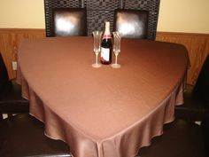 Awesome 75 Chocolate Triangle Tablecloth For Triangle By KnotSewInnocent.  TableclothsDining TableTrianglesChocolates
