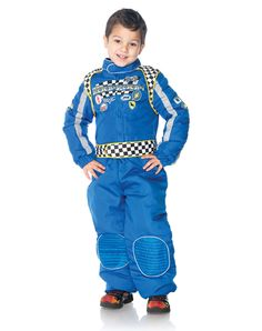 race car driver boys costume spirit halloween
