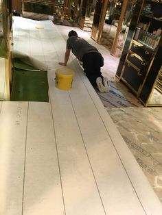 Cutting Carpet To Shape. Flooring ContractorsCommercial ...