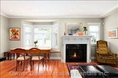 Awesome space-saving dining room / living room idea from this executive house in the heart of Kitsilano Vancouver Vacation, 2010 Winter Olympics, Natural Scenery, Vacation Rentals, British Columbia, Space Saving, Dining Room, Heart, Awesome