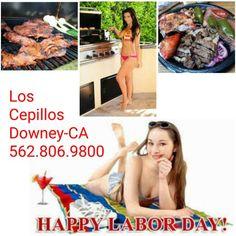 Happy Labor Day Weekend. Aprovechen una ultima carnita asada with great weather y con familia y amigos, who needs more? Los Cepillos, the best CARNE in Downey!