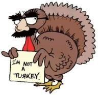 cartoon turkeys | Bring On The Bird – Volunteer Style - Pay It Forward