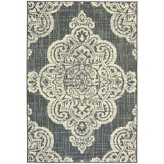 Carmet Indoor/Outdoor Rug - Atlantic (51 AUD) ❤ liked on Polyvore featuring home, rugs, persian rugs, indoor outdoor area rugs, persian style area rugs, indoor outdoor rugs and persian style rugs