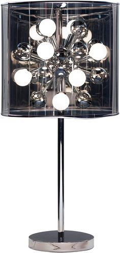 modernrugs.com Awesome Starburst Modern Table Lamp