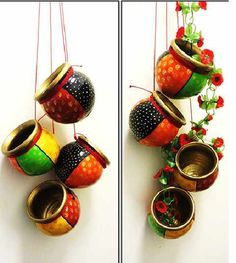 Get creative with these curated ideas for pot decorations to help organize your kitchen, home or garden with this collection of pot painting, diys of pot decor or simple wall hangings made from pots. This collection will enhance the beauty of their contents for creative flowerpots and containers that can be reused or recycled to decorate that lovely space at home.