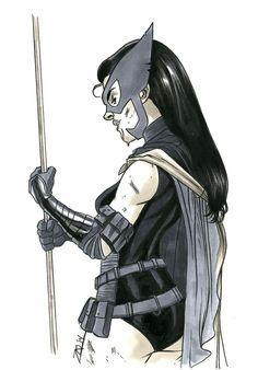 The Huntress - Joe Quinones' interweb-log Hawkgirl, Batwoman, Nightwing, Comic Book Girl, Comic Book Heroes, Dc Comics Characters, Girls Characters, Helena Bertinelli, Batman And Catwoman
