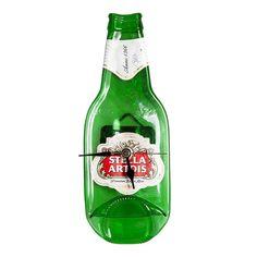 Stella Artois beer bottle clock by Aramica on Etsy