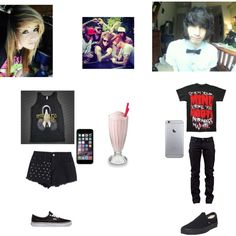 Just hanging out by jayden-kurtz on Polyvore featuring polyvore, fashion, style, Naked & Famous and Vans