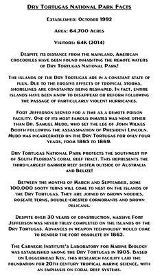 Find Your Park: Dry Tortugas National Park — Purple Moose Basics