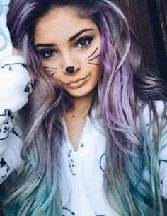 """(Faceclaim:Carrington Durham) """"Hi everyone! I'm Amber. I'm eighteen and I'm a lesbian. I'm submissive though so, I'm looking for a mommy. I like it rough in the sheets and gentle in the streets. I love pacifiers, blankies, stuffies, pillow forts, cuddles, and coloring!"""""""