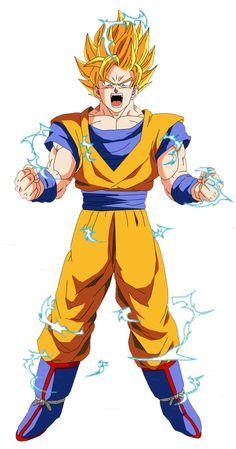 Goku súper Sayan 2