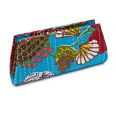 Upcycled Sari Kantha Klutch. The production of these clutches provides Indian women with a beautiful opportunity to create a better standard of living for themselves, their children, and their communities!   $30 #uncommongoods