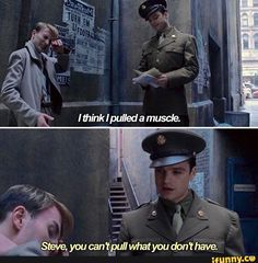 Steve Rogers and Bucky Barnes, Captain America: The First Avenger, Marvel Memes Batman, Funny Marvel Memes, Dc Memes, Marvel Jokes, Avengers Memes, Marvel Dc Comics, Marvel Avengers, Funny Movie Memes, Loki Funny