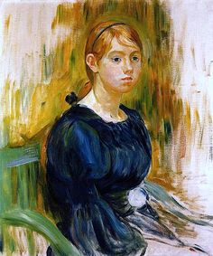 Berthe Morisot -  Jeannie Gobillard, 1894 Oil on canvas, Private collection