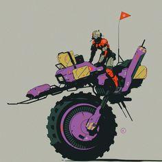 Concept Ships, Concept Art, 70s Sci Fi Art, Arte Cyberpunk, Game Props, Spaceship Design, Ligne Claire, Futuristic Cars, Mechanical Design