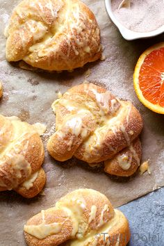 Cinnamon-Sugar Orange Knots