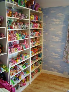 My Little Pony Collection - OMG the girls would love this! They have their collection but it's not this big!