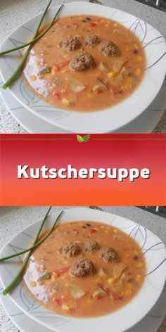 Kutschersuppe - New Site Easy Smoothie Recipes, Easy Smoothies, Good Healthy Recipes, Soup Recipes, Healthy Snacks, Snack Recipes, Breakfast Healthy, Dinner Healthy, Recipes Dinner