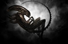 Small Beginnings - The Xenomorph is Gigers most recognized icon of horror. Truly alien in form and nature, without it, so many nightmares wouldn't have happened.