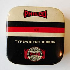 Vintage Packaging: Typewriter Tins - The Dieline -
