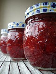 pineapple rhubarb jam - This is really good and easy to make. TR