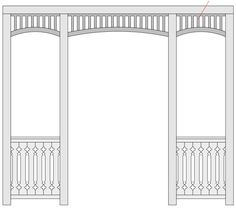 Crown Molding, Cottage Style, Colonial, House Plans, Pergola, Porch, Sweet Home, Backyard, Outdoor Structures