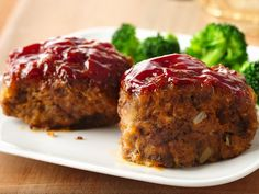 30-Minute Mini Meat Loaves for the mini pie dishes